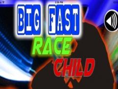 Big Fast Race Child - Crazy Game Road Bike 3.5.1 Screenshot