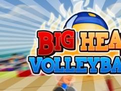Big Head Volleyball HD 1.1 Screenshot