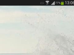 Big Ocean Waves Live Wallpaper 5.0 Screenshot