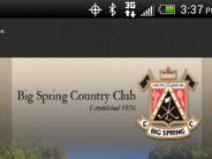 Big Spring Country Club 4.0.2 Screenshot
