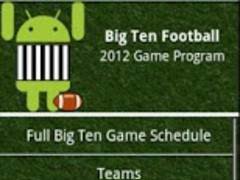 Big Ten Football Guide 2012 1.82 Screenshot
