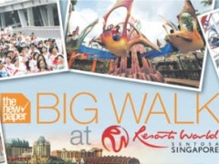 Big Walk 1.4 Screenshot