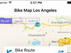 Bike Map Los Angeles 1.1 Screenshot