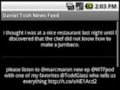 Bill Maher News Feed 1.1 Screenshot