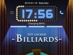 Billiards GO Locker Theme 1.00 Screenshot