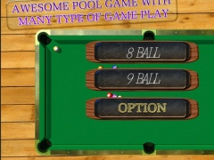 BILLIARDS POOL SLAM 3D 1.1 Screenshot