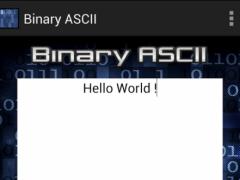Binary ASCII 1.02 Screenshot