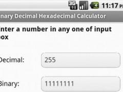 Binary Decimal Hex Converter 1 0 Free Download