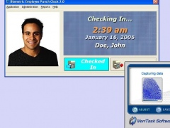 Biometric Employee Time Clock 4.0 Screenshot