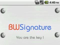 BioWallet Signature 1.8.2 Screenshot