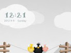 BIRDBIRDBIRD GO Locker Theme 1.10 Screenshot