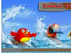 Birds on Boards Pro Game: Tiny Parrots Water adventure Race 1.0 Screenshot