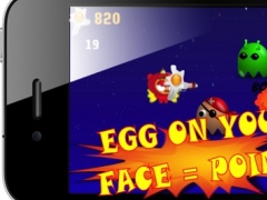 Birds Vs Angry Aliens Free Game: Mayhem On Dark Space Empire 3.0.4 Screenshot