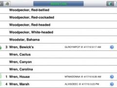 Birdwatcher's Diary for iPad 7.3 Screenshot