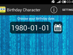 Birthday Character 1.13 Screenshot