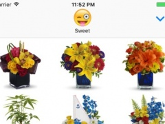 Birthday Flowers for Him - Bouquets Stickers Pack 1.0 Screenshot