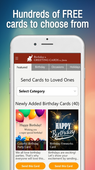 Birthday Greeting Cards By Davia 21 Free Download