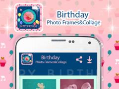 Birthday Photo Frames&Collage 1.0 Screenshot