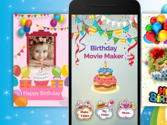 Birthday Photo Movie Maker 1.3 Screenshot