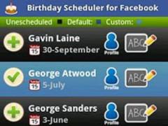 Birthday Scheduler for Fb Lite 2.0.2 Screenshot