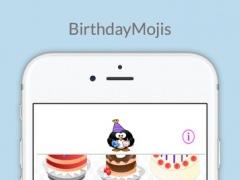 BirthdayMojis: Send Happy Birthday Themed Mojis Instantly 1.01 Screenshot