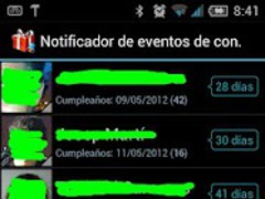 Birthdays notifier 2.4.72 Screenshot