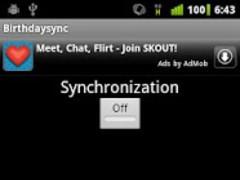 Birthdaysync 1.1.0 Screenshot