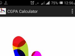 BIT CGPA Calculator 1.0 Screenshot