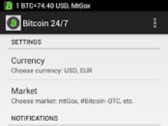 Bitcoin 24/7 3.0.3 Screenshot