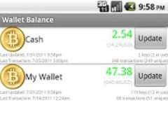Bitcoin Wallet Balance 1.6.0 Screenshot