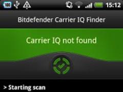 Bitdefender Carrier IQ Finder 1.3 Screenshot