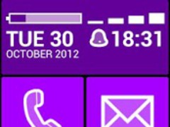 BL Violet Theme 1.0.2 Screenshot