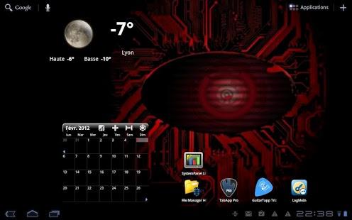 Black Droid Eye Live Wallpaper 1 2 Free Download