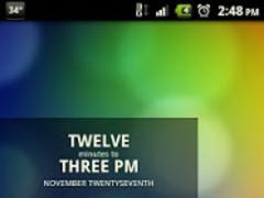 Black Glass ADW Theme 1.7 Screenshot