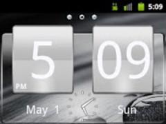 Black Glass Go Launcher Theme 3.0 Screenshot