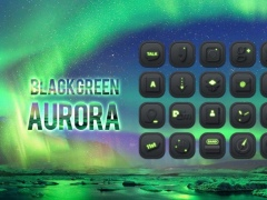 Black Green Aurora theme 1.0 Screenshot