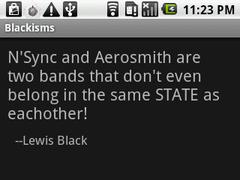 Blackisms 4.2 Screenshot