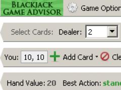 Blackjack Game Advisor 1.01 Screenshot
