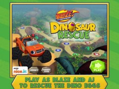 Blaze and the Monster Machines Dinosaur Rescue HD 1.0 Screenshot