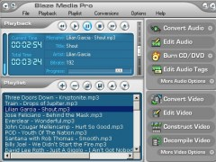 Blaze Media Pro 10.0 Screenshot