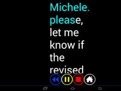 Blind SMS Reader 3.2 3.2.1 Screenshot