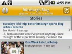 Blitzburgh Blog 2.9 Screenshot