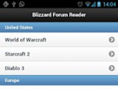Blizzard Forum Reader 1.06 Screenshot