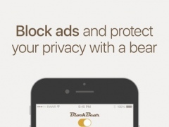 BlockBear: Block Ads and Protect Your Privacy With a Bear 1.1.2 Screenshot