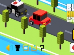 Blocky Highway Racing roads fever - Dont crush & drive ahead 1.0 Screenshot