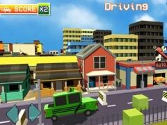 Blocky Traffic Racer On Highway-Parking & Driving 1.0 Screenshot