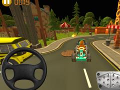 Blocky Village Parking 1.0 Screenshot
