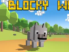 Blocky Wolf Simulator 1 Screenshot
