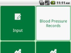 blood pressure recording 1.1 Screenshot