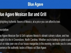 Blue Agave Restaurant 1.25.43.82 Screenshot